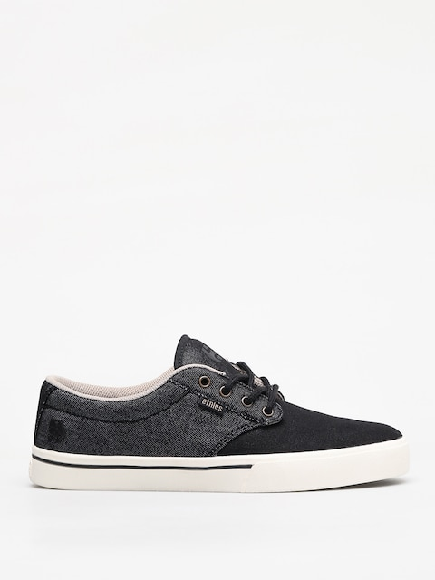 Etnies Jameson 2 Eco Shoes (black/white/gold)