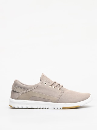 Etnies Scout Shoes (tan/white/gum)