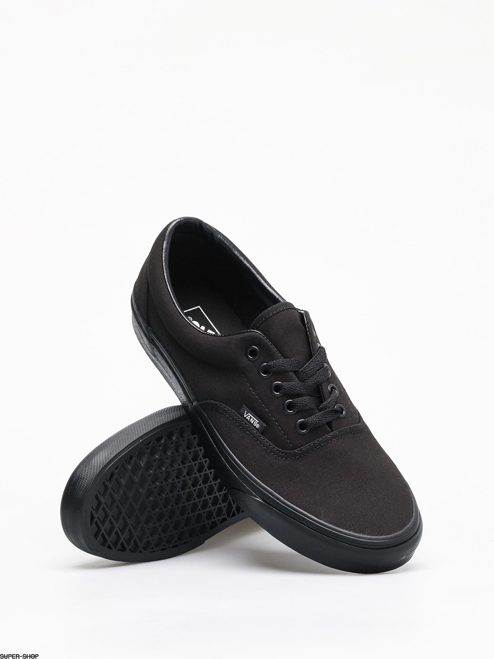 vans black black shoes