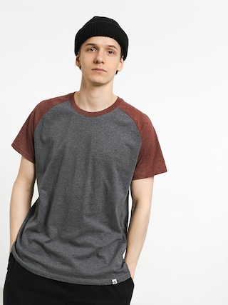 Element Basic Raglan T-shirt (oxblood heather)