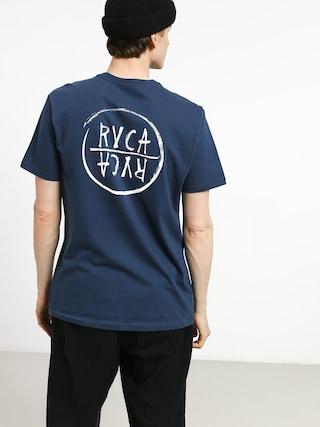 RVCA Rvca Font T-shirt (seattle blue)