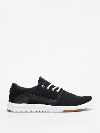 Etnies Scout Shoes (black/white/silver)