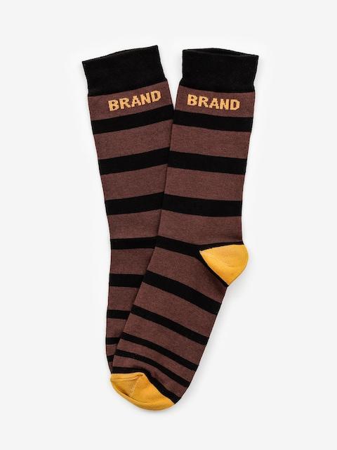 Malita Bang Lt Socks (brown)
