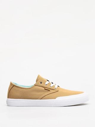 Etnies Jameson Vulc Ls Shoes (tan/white)