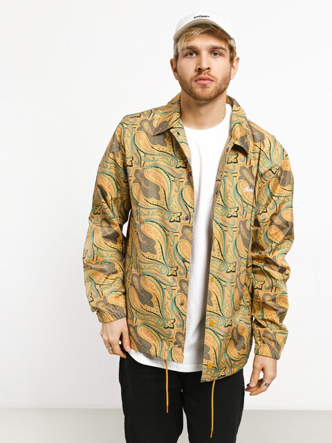 Stussy Paisley Coach Jacket (gold)