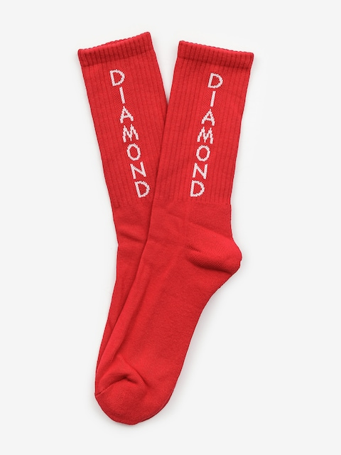 Diamond Supply Co. Hobbs Socks (red)