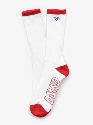 Diamond Supply Co. Socks Dmnd Brilliant (white)