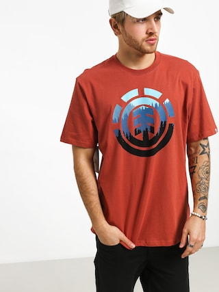 Element Glimpse Icon T-shirt (etruscan red)