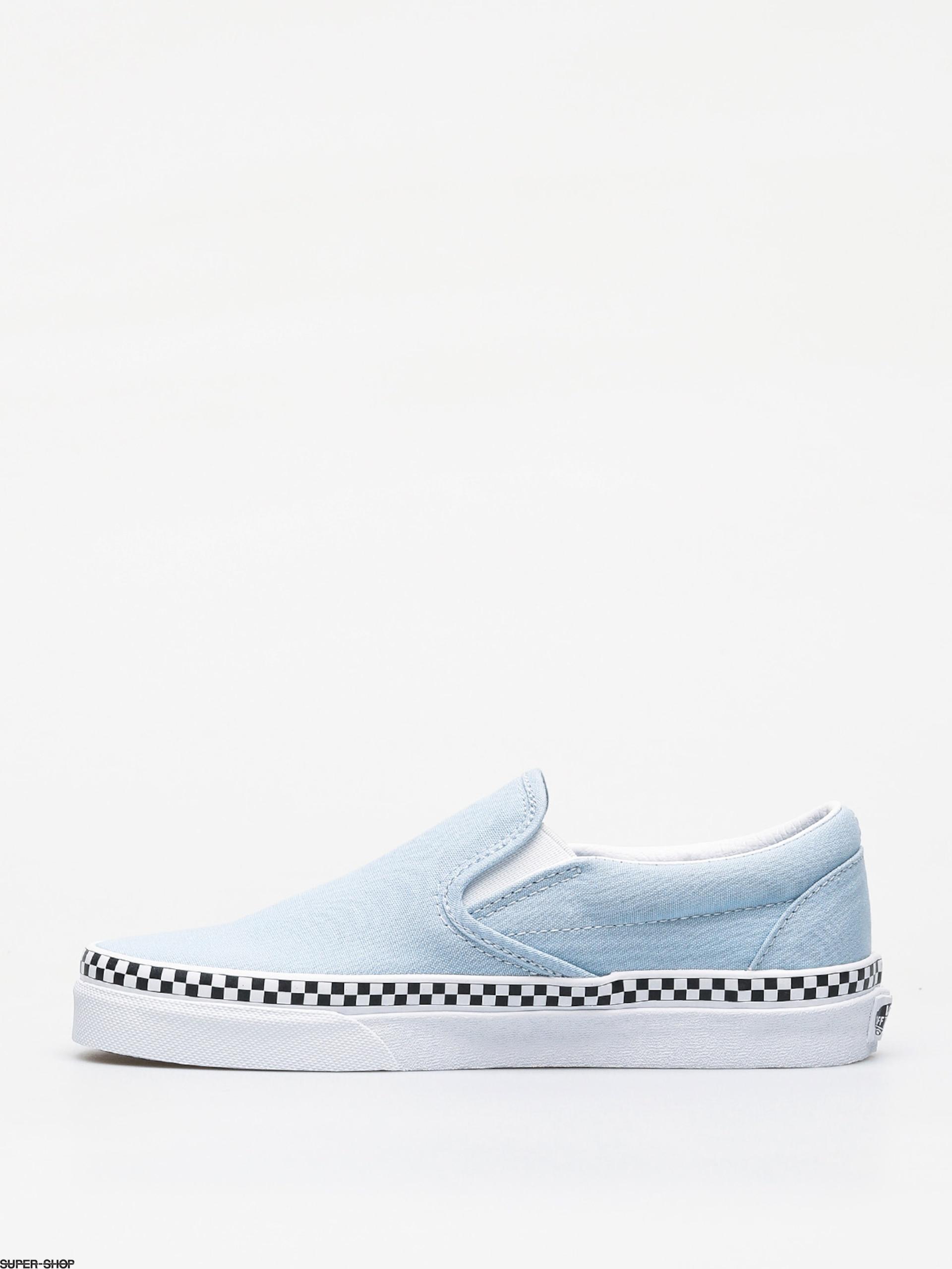 Vans Classic Slip On Shoes (check fox)