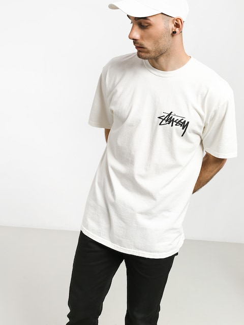 Stussy Stock Pig. Dyed T-shirt (natural)