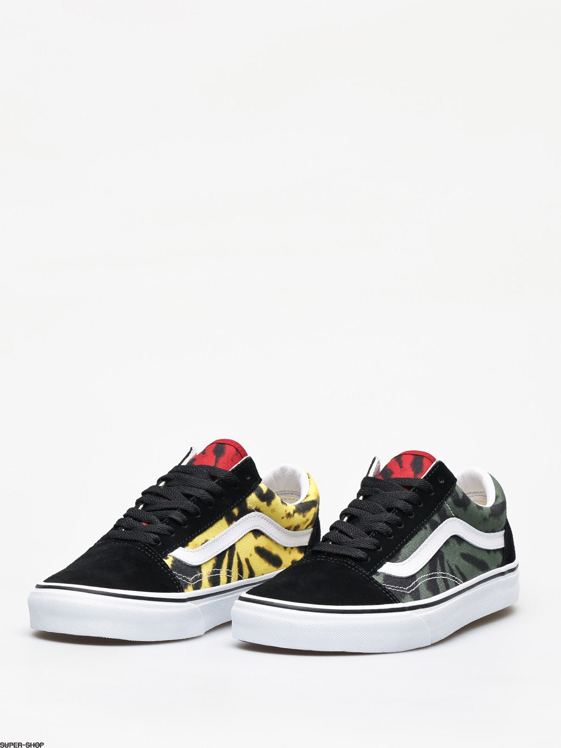 Vans Old Skool Shoes (tie dye multi)