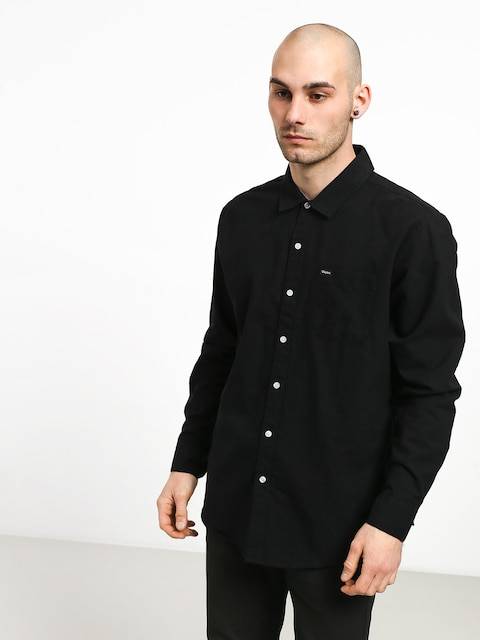 Brixton Charter Oxford Wvn Shirt (black)