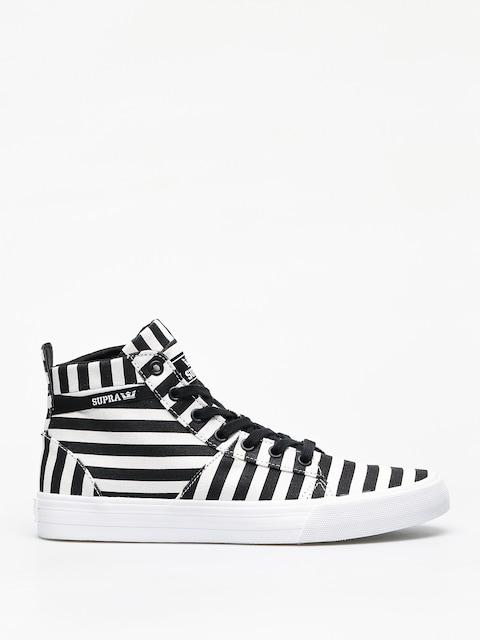 Supra Stacks Mid Shoes (black/white stripe)