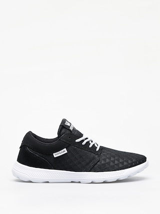 Supra Hammer Run Shoes (black emboss white)