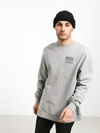 RVCA Daybreak Sweatshirt (athletic heathe)