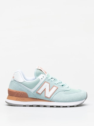 New Balance 574 Shoes Wmn (white agave)