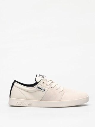 Supra Stacks II Shoes (bone/black bone)