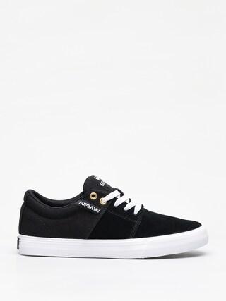 Supra Stacks Vulc II Shoes (black/black white)