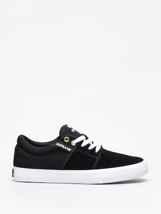 Supra Stacks Vulc II Shoes (black/black white)