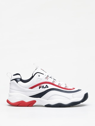 Fila Ray F Low Shoes (white/fila navy/fila red)