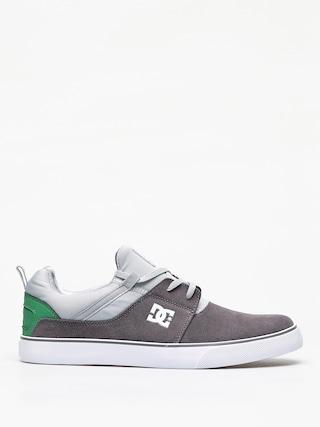 DC Heathrow Vulc Shoes (grey/grey/green)