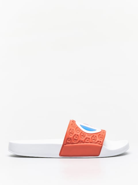 Champion Premium Slide Multi Lido Flip-flops (pink/wht/r)