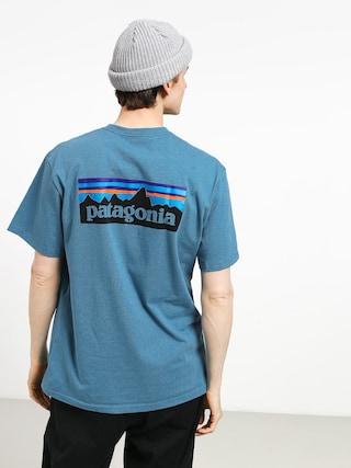 Patagonia Logo Responsibili T-shirt (mako blue)