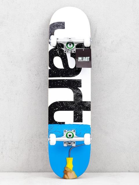 Jart Rolling Skateboard (white/blue)