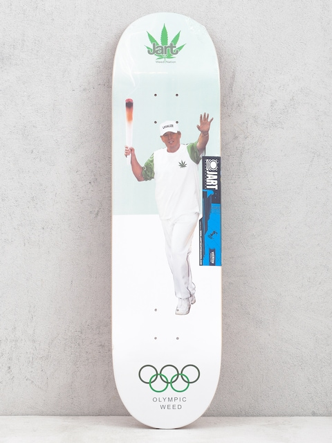 Jart Weed Nation Olympic Weed Deck (green/white)