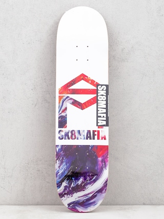 Sk8Mafia House Logo Deck (oil low)