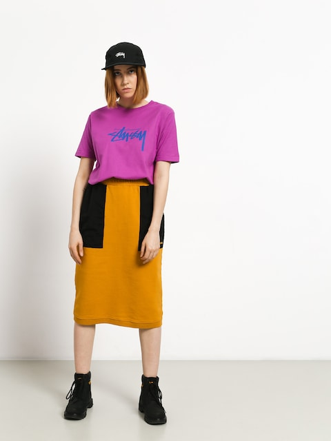 Stussy Simone Contrast Pocket Skirt Wmn (gold)