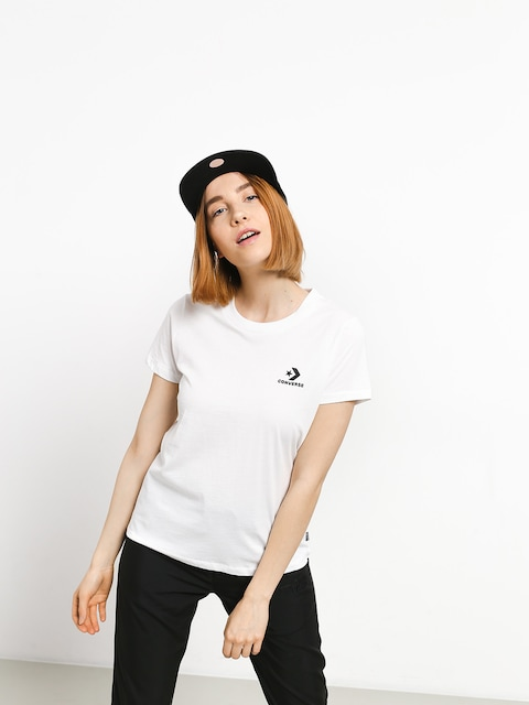 Converse Chevron Small Chest T-shirt Wmn