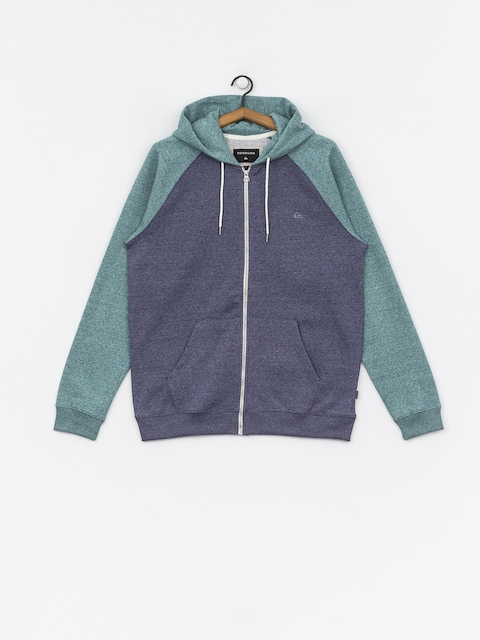 Quiksilver Everyday ZHD Hoodie (mdival bl/strmys htr)