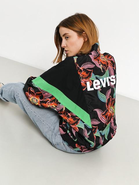 Levi's Reese Windbreaker Jacket Wmn (lineartropical caviar)
