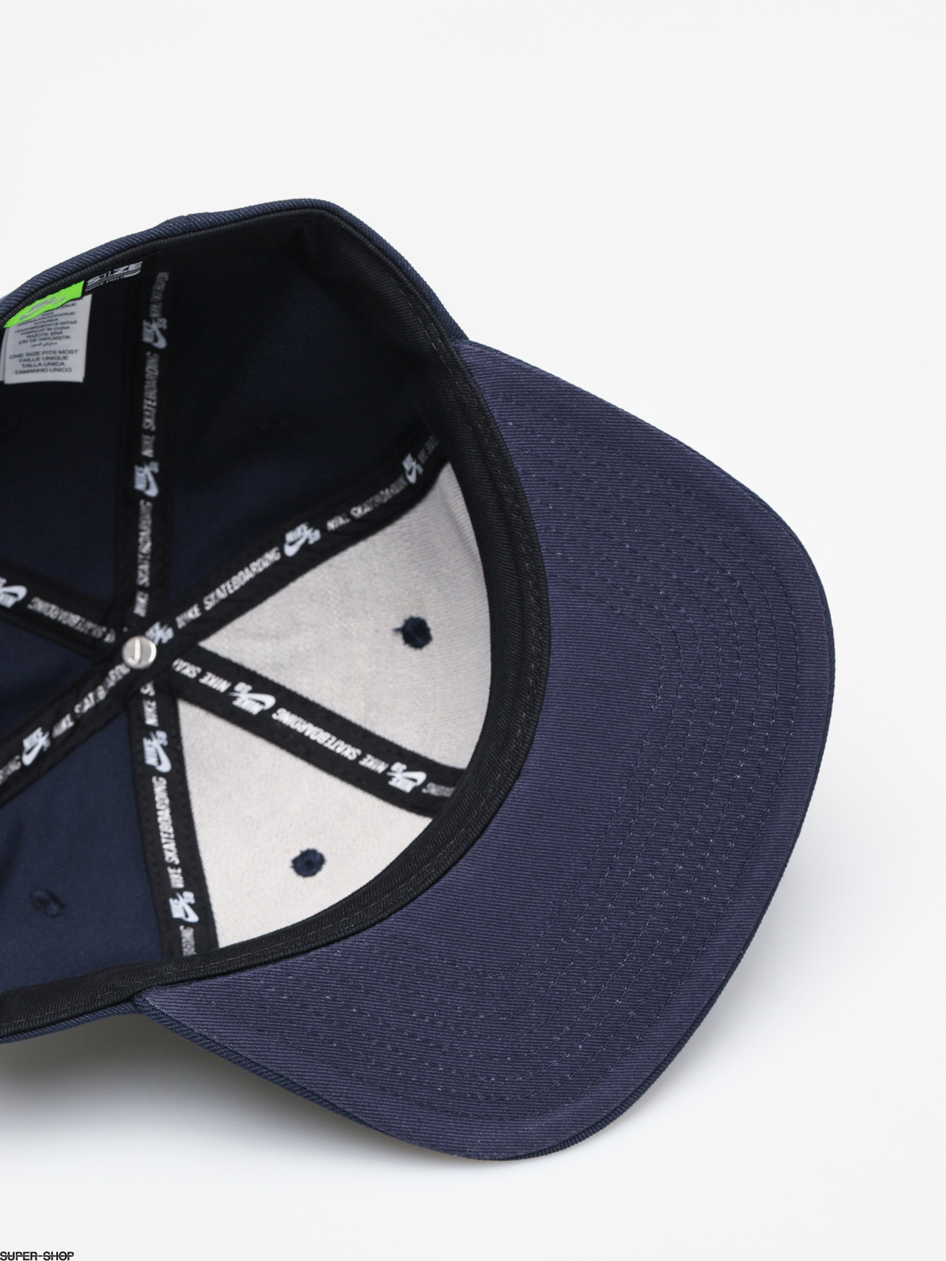 bf5410596 Nike SB Icon Snapback ZD Cap (obsidian/white)
