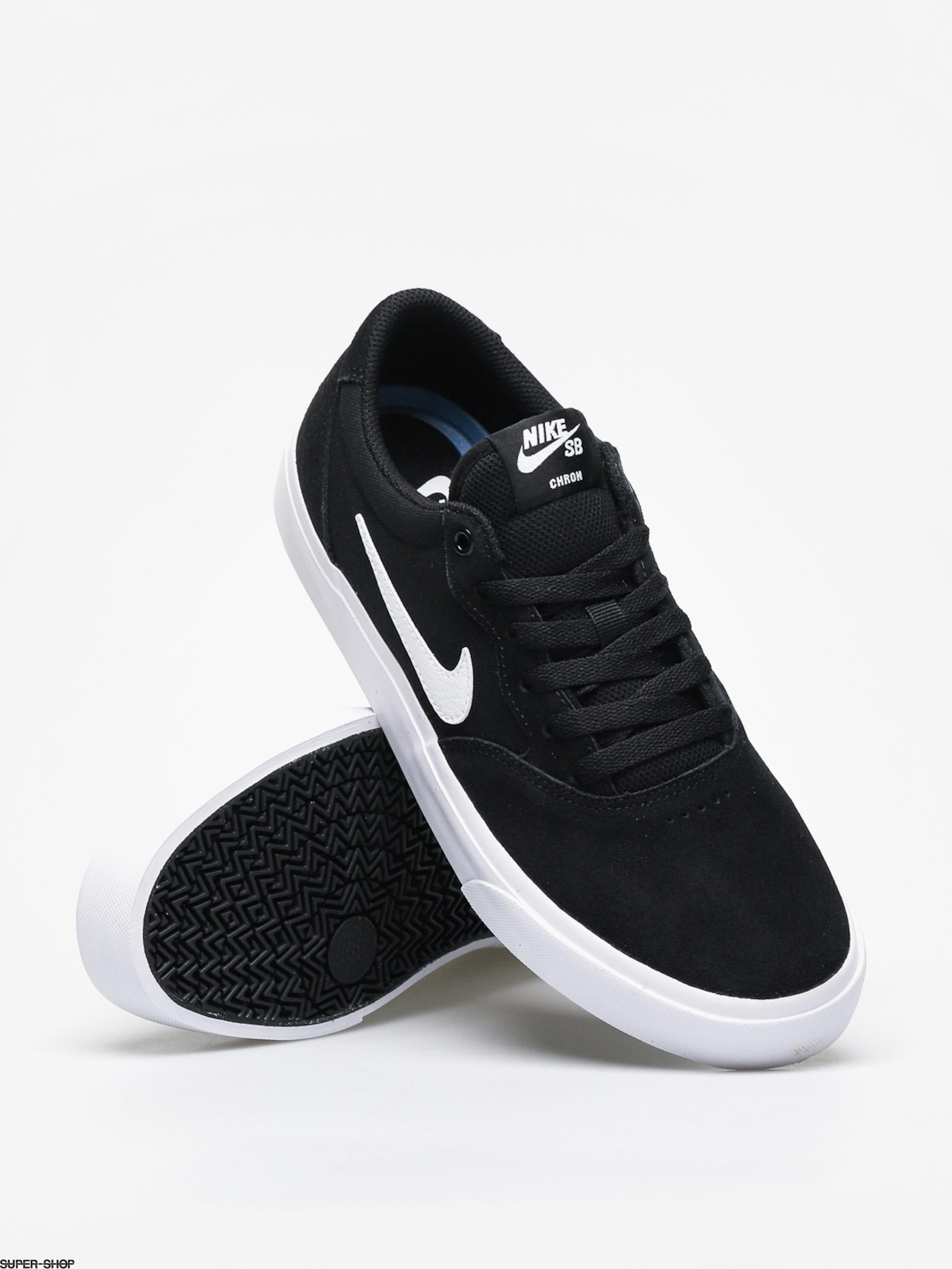 Piccione ereditare fioco  Nike SB Chron Slr Shoes (black/white)