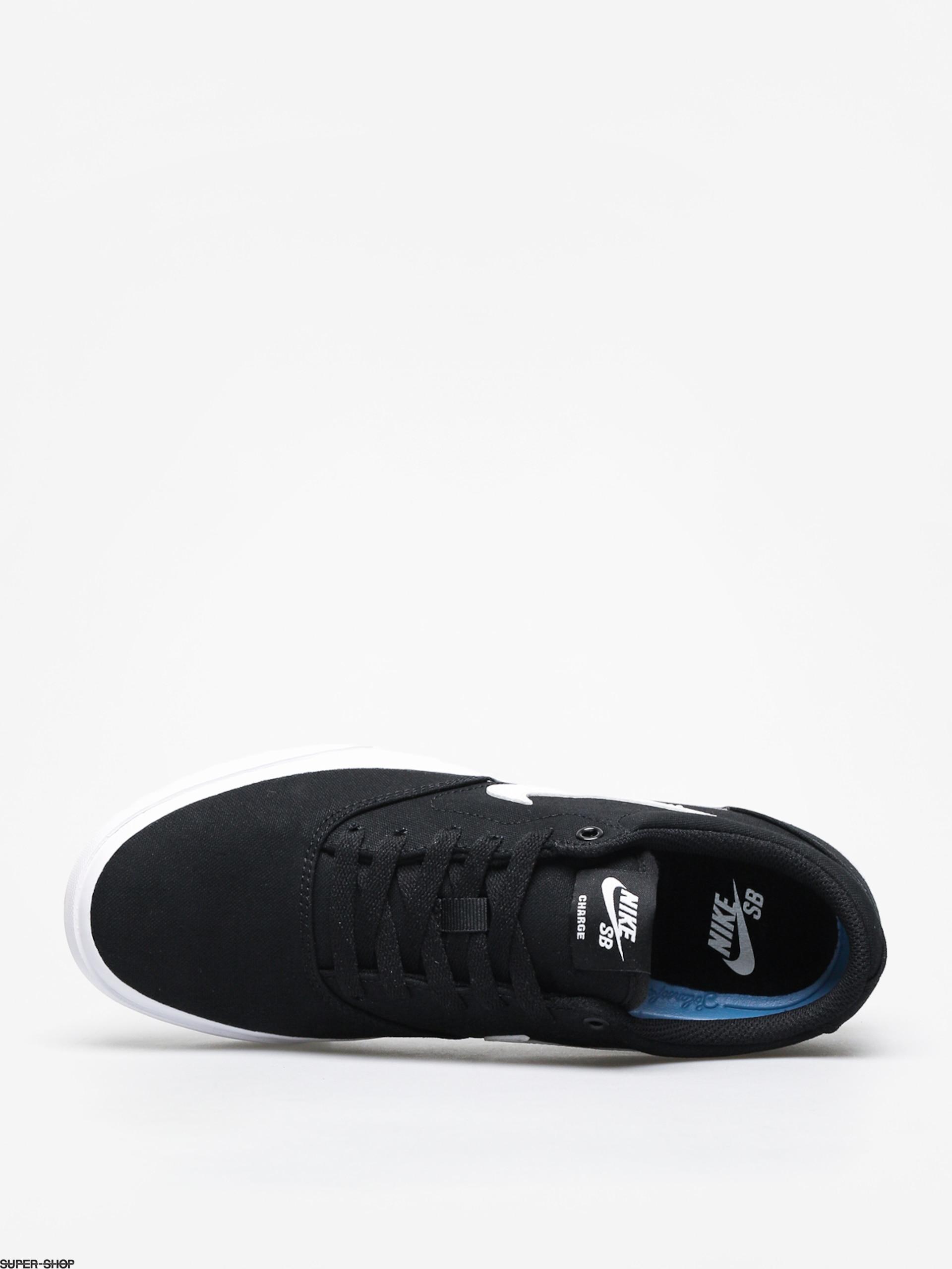 8ac7f7941 Nike SB Charge Slr Shoes (black white)