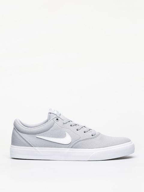 Nike SB Charge Slr Shoes (wolf grey/white)