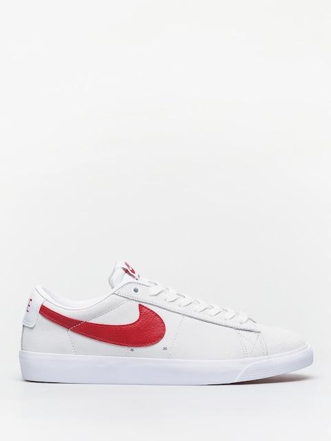 Nike SB Blazer Low Gt Shoes (white/university red)