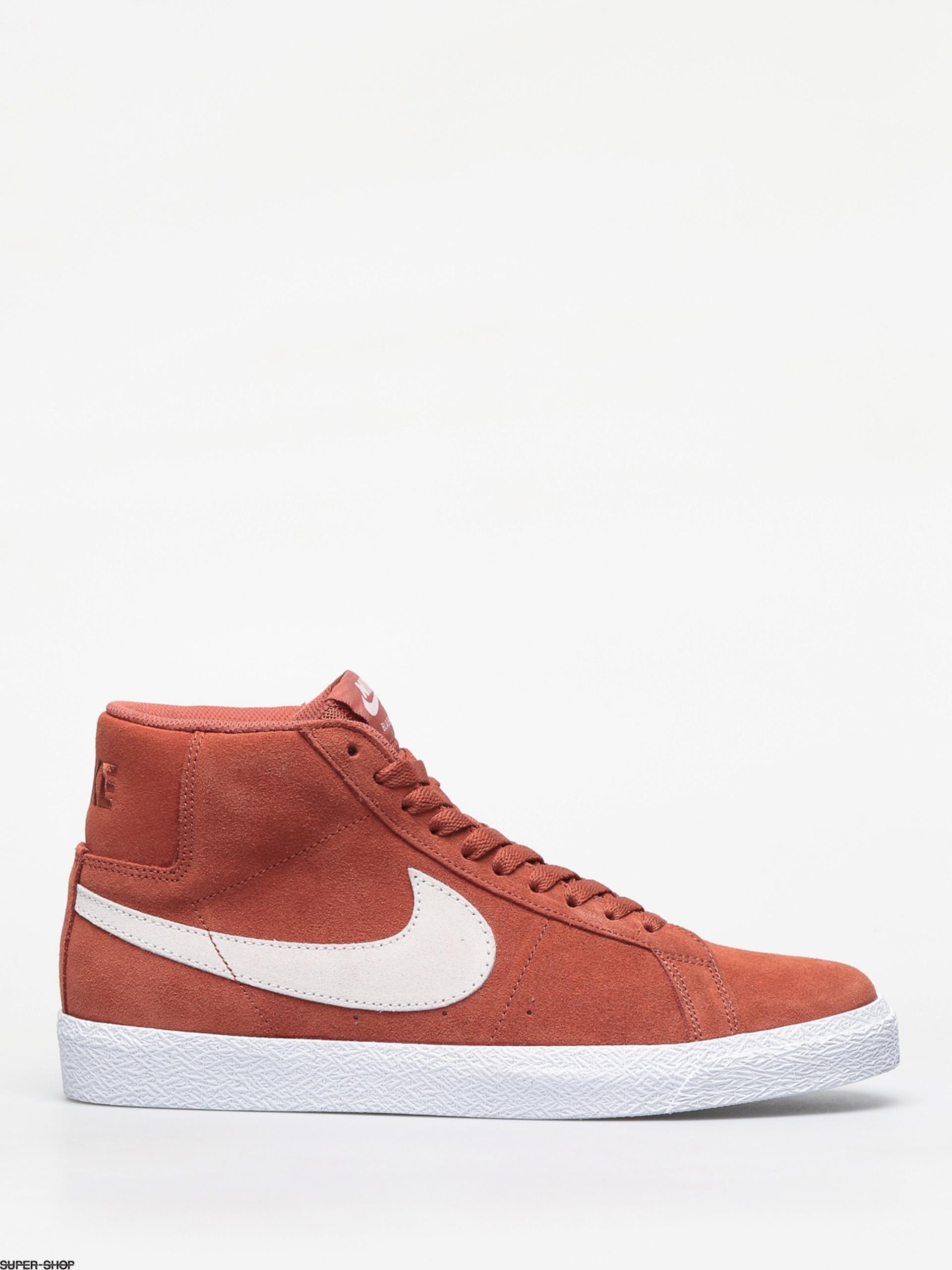 Nike SB Blazer Mid Shoes Dusty Peach