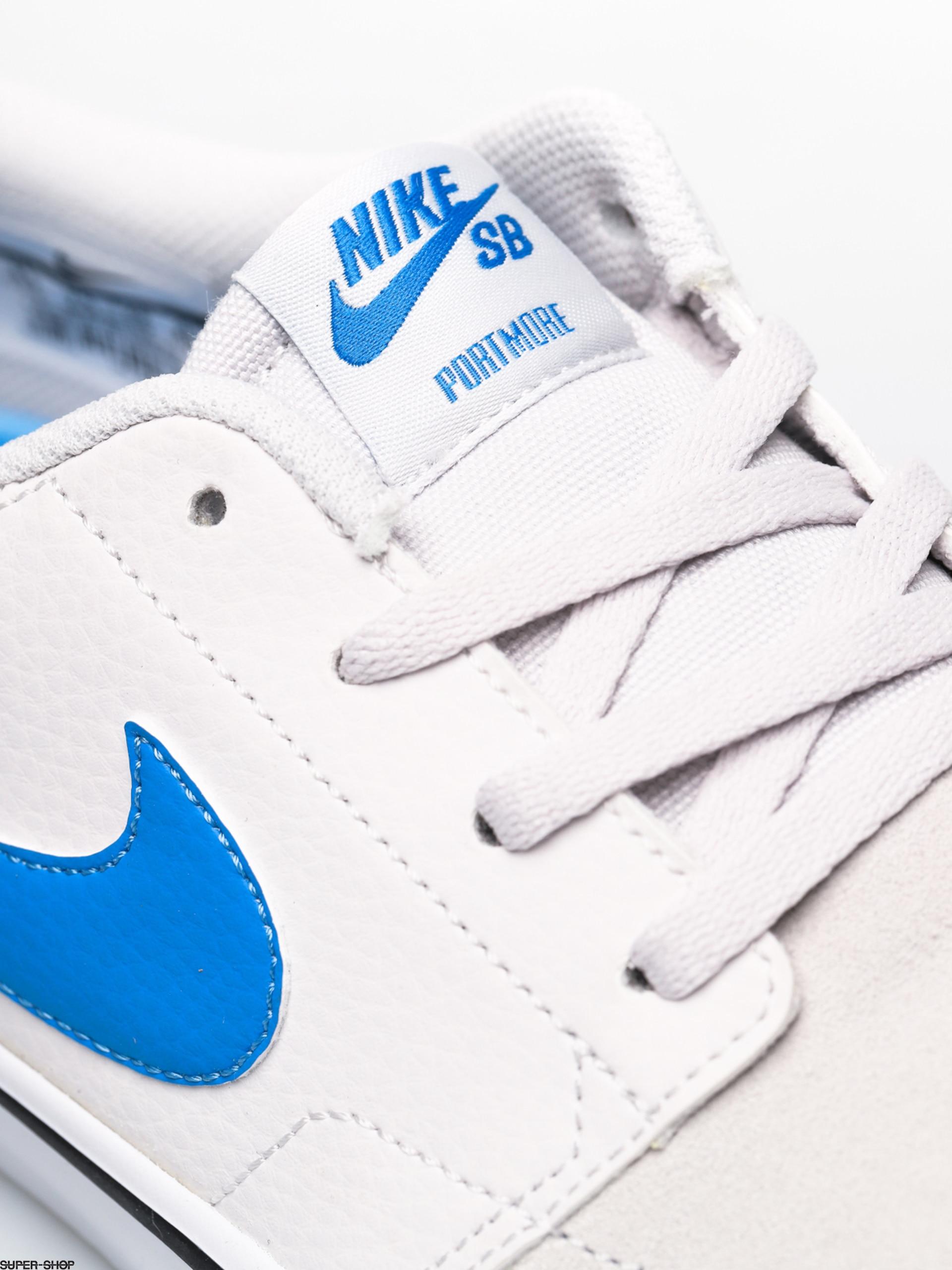Química contar Lo siento  Nike SB Solarsoft Portmore II Shoes (vast grey/lt photo blue vast grey  black)