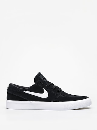 Nike SB Zoom Janoski Rm Shoes (black/white thunder grey gum light brown)