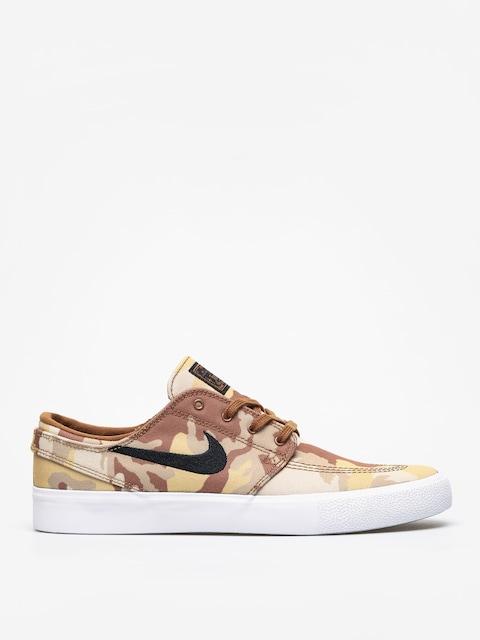 Nike SB Zoom Janoski Cnvs Rm Prm Shoes (parachute beige/black ale brown white)