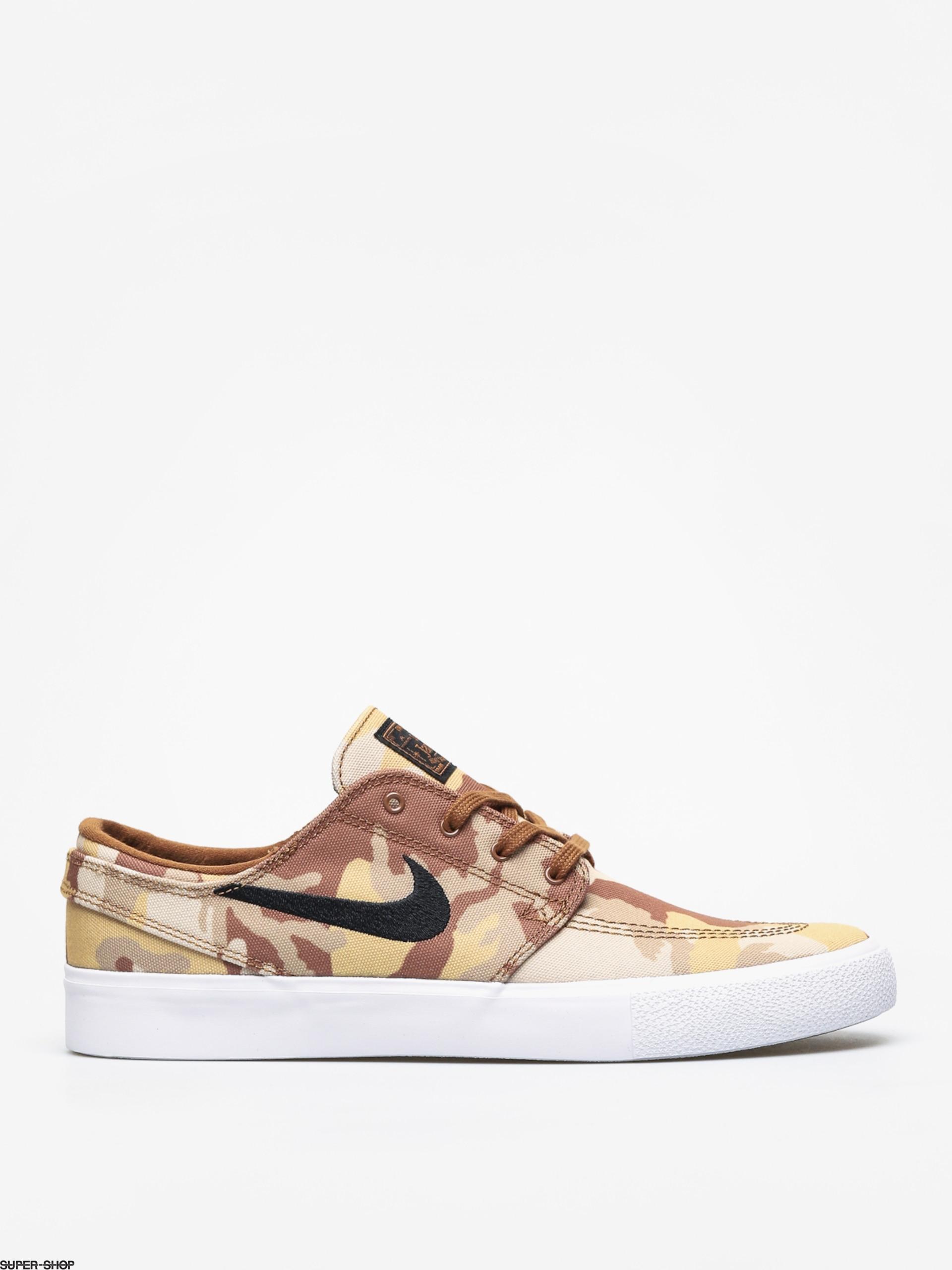 newest 5ea0e 6a953 Nike SB Zoom Janoski Cnvs Rm Prm Shoes (parachute beige black ale brown  white)