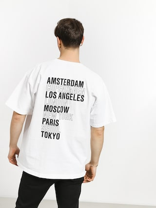 OBEY Intl Cities T-shirt (white)