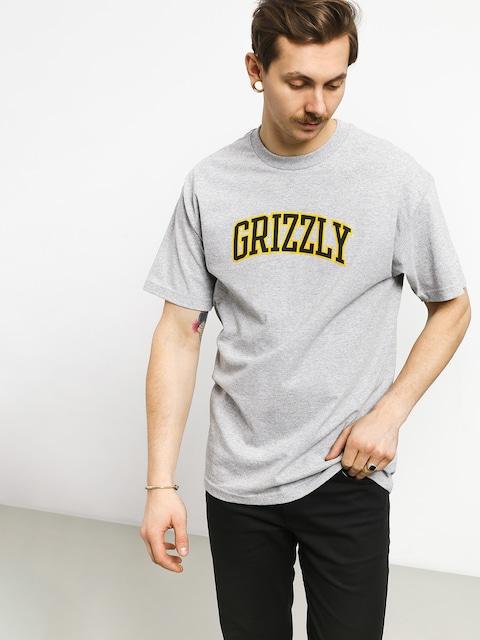 Grizzly Griptape University T-shirt (grey heather)