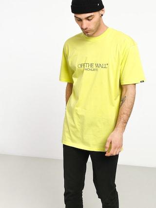 Vans Old Skool Text T-shirt (sunny lime)