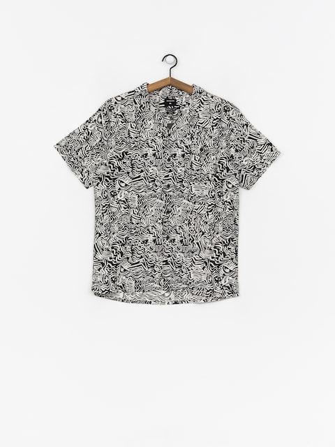 Quiksilver The Camp Allover Shirt (black acid tribe)