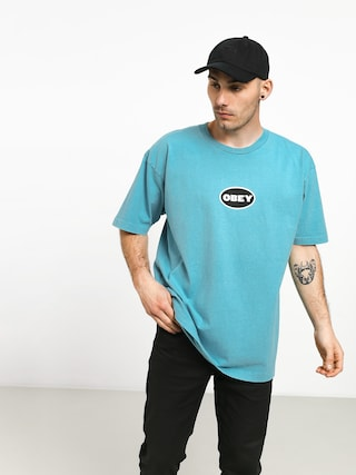 OBEY Galleria T-shirt (pool)