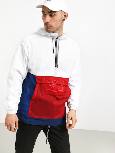 Supra Centrico Anorak Jacket (red/white/blue)